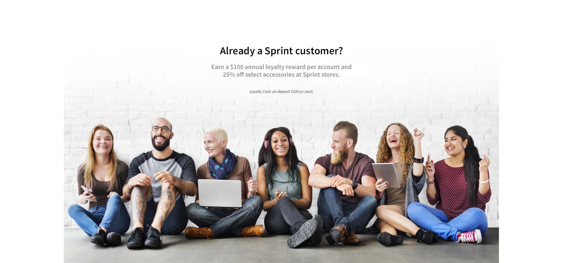 already a sprint customer?